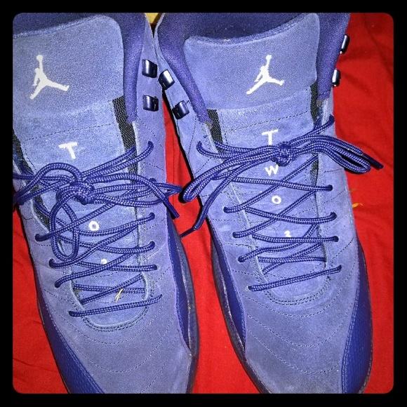 official photos da6ef f07c6 Blue Jordan 12s